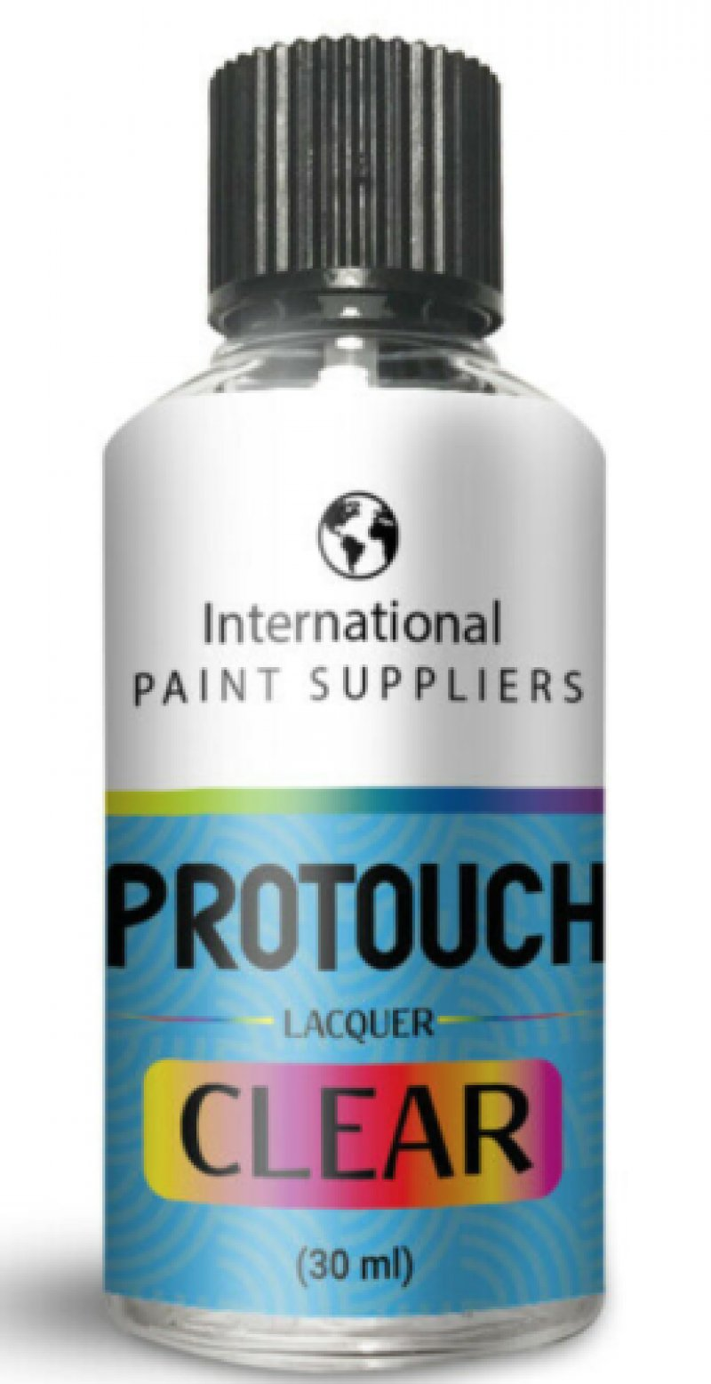 30ML CLEAR LACQUER COAT - FOR CAR PAINT TOUCH UP BRUSH SCRATCH CHIP REPAIR