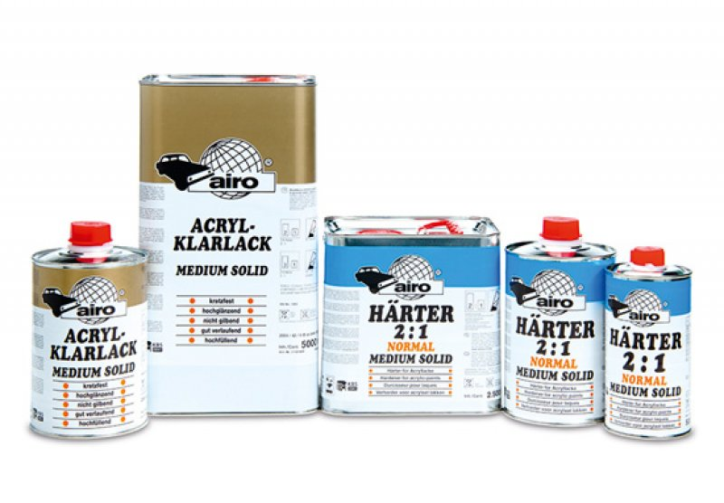 Airo MS 2K Clearcoat and Hardener Kit
