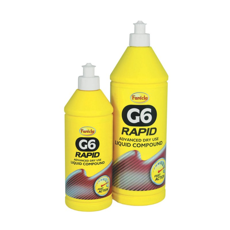 Farecla G6 Rapid Advanced Dry Use Liquid Compound 1Ltr